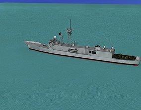 3D FFG-17 Frigate HMAS Adelaide