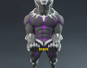 Black Panther cellphone and joystick 3D printable model