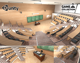University Classroom 3D model