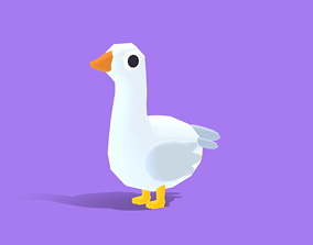 3D model Gwen the Goose - Quirky Series