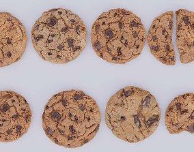 cookies breakfast 3D model