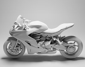3D asset game-ready Ducati Supersport S