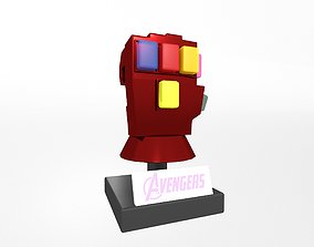 3D model Lego Infinity Gauntlet v3 002