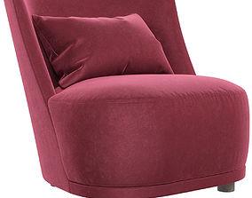 Alberta Vivien armchair 3D