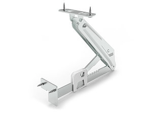 Lift-Up Ratchet Support 3D model