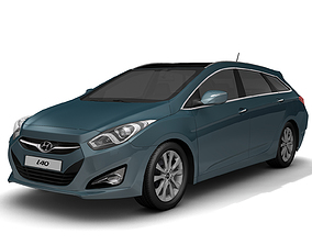 3D 2012 Hyundai i40 Wagon