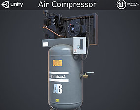 3D model VR / AR ready Air Compressor