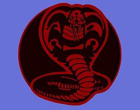 Cobra logo 3D