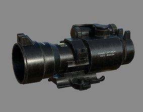 3D asset Weapon - Scope - Aimpoint2X