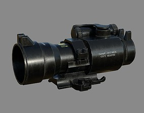 Weapon - Scope - Aimpoint2X 3D asset