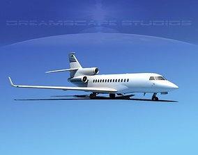 Dassault Falcon 7X V15 3D model