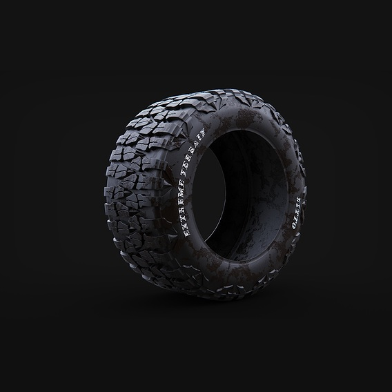 Extreme Terrain Nitto for Mercedes Ener G Force