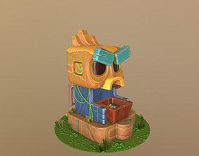 3D asset Forest Tiki
