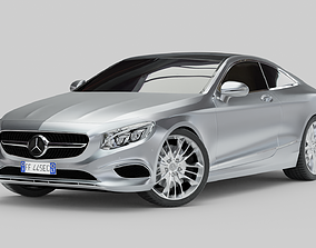 Mercedes-Benz S Class Coupe 2015 3D model