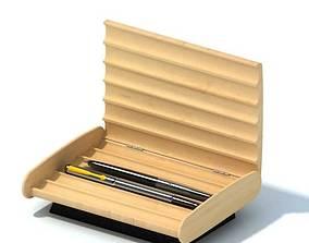 3D Wood Pen Holder