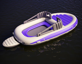 inflatable 3D model Inflatable boat