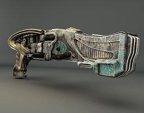 Riddicks Hero Shotgun 3D model game-ready
