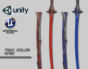 Two Colors Epee 3D asset