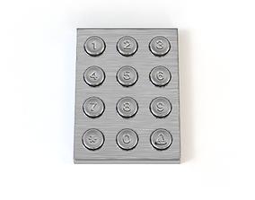 Code Lock dial 3D model