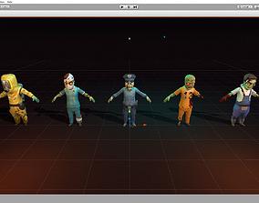 Zombies 3D model