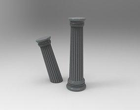 Greek pillar 3D printable model