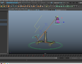 3D model Camera Crane Rig