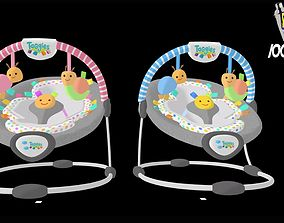 Babywippe Boys - Girls 3D asset