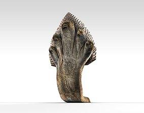 3D model Angkor Naga snake statue