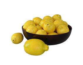 Lemons fruit 3D model