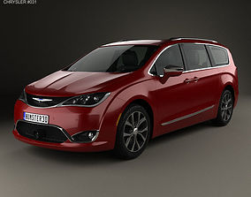 2019 Chrysler Pacifica 2017 3D model