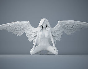 Sexy angel series 005 3D print model