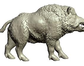 3D print model Boar figurine
