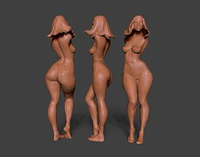 3D printable model Clay Girl 7