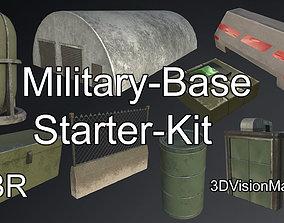 Military-Base Environment Starter-Kit 3D asset