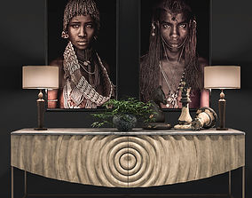 3D model African Decoration Set