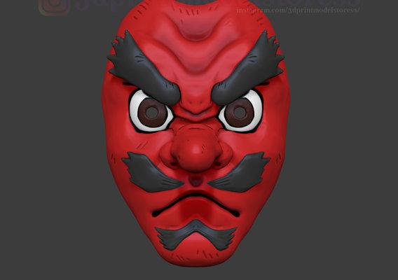 Demon Slayer Sakonji Urokodaki Mask