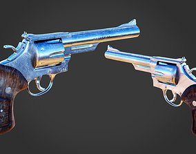 3D model Revolver Magnum