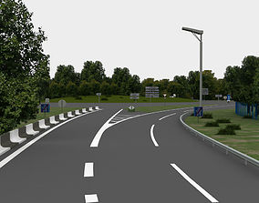 highway navigation 3D road infrastructure