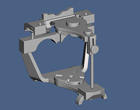 3D print model Denar type dental articulator in STL