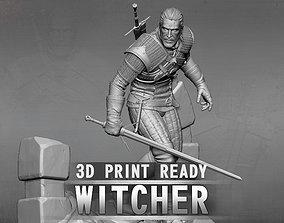 geralt 3D print model The Witcher