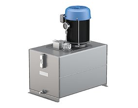 Haldex AC Hydraulic Power System Self-Contained 3D