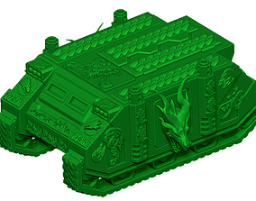 3D print model DRAGON TRANSPORTER