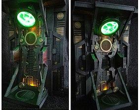 3D printable model Borg Alcove
