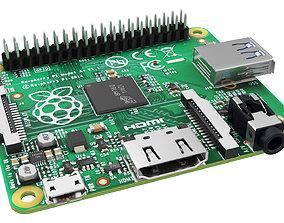 3D model Raspberry pi 1 A plus
