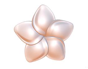 Flower 10 brooch 3D printable model