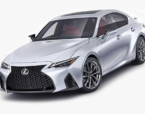 Lexus IS350 F-sport 2021 3D