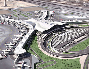 Abu Dhabi Airport 3D