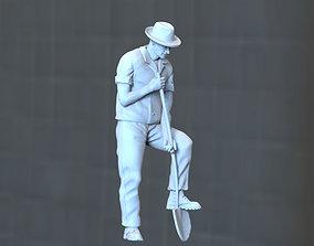 digger 3D printable model