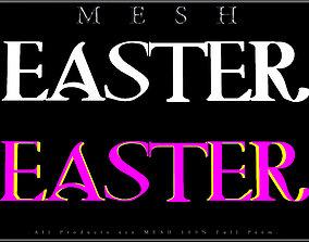3D model EASTER - Q