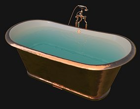 3D model catchpole and rye bathtub